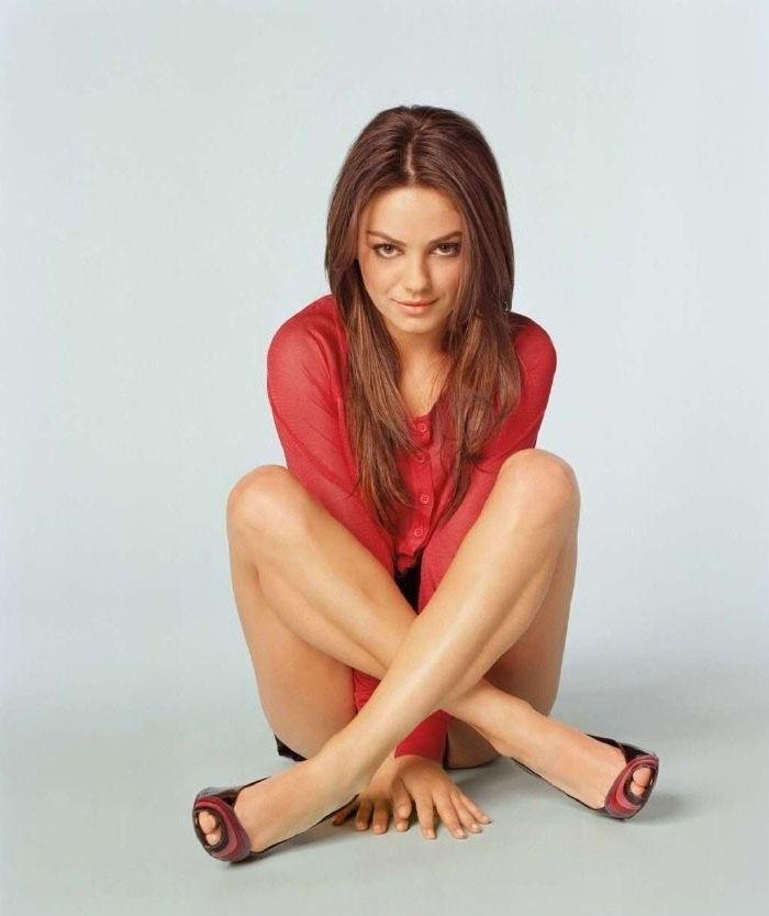 Mila Kunis nahá. Foto - 37
