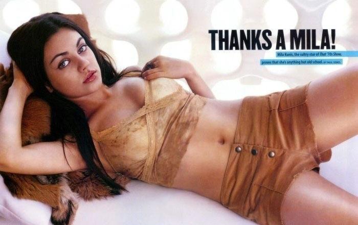 Mila Kunis nahá. Foto - 38