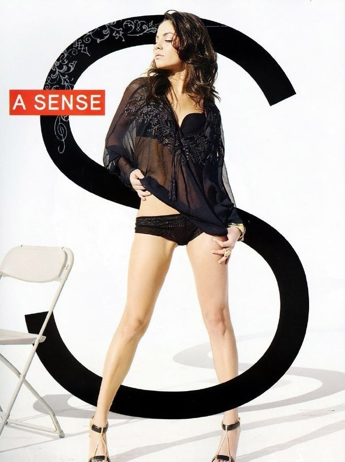 Mila Kunis nahá. Foto - 50