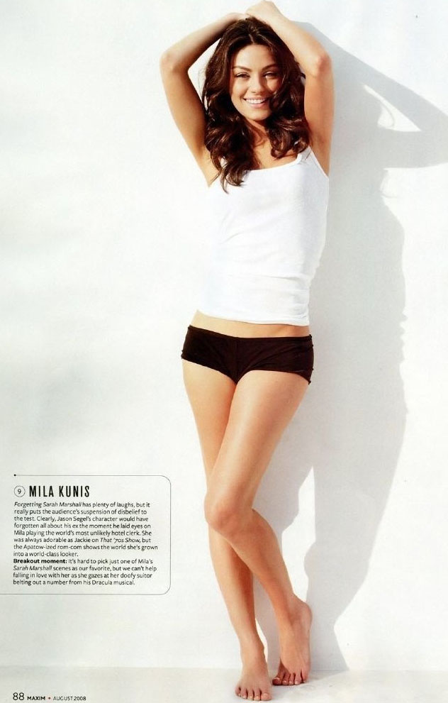 Mila Kunis nahá. Foto - 8