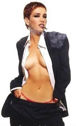 Natalia Oreiro nahá. Foto - 19