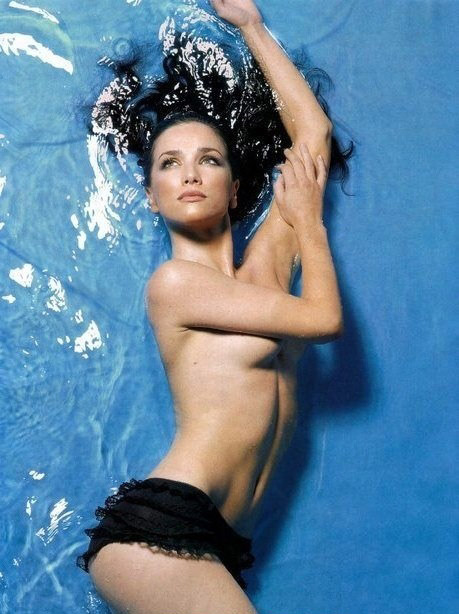 Natalia Oreiro nahá. Foto - 2